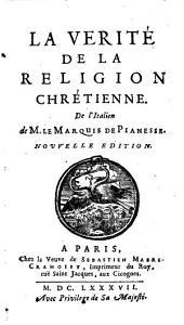 La verité de la religion chrétienne