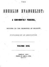 The Oberlin Evangelist: Volumes 17-18