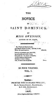 The Novice of Saint Dominick: Volume 1