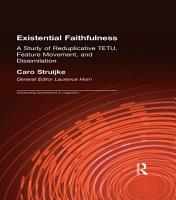 Existential Faithfullness PDF