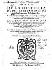 Historia de la Tercera Orden de nuestro Seraphico P. S. Francisco: Volumen 1