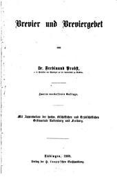 Brevier und Breviergebet
