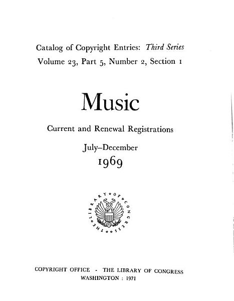 Download Catalog of Copyright Entries Book