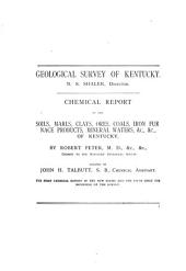 Reports of Special Subjects A- F: A. Chemical analyses, by R. Peter, J.H. Talbutt, and A.M. Peter. 3 pts. 1884-90