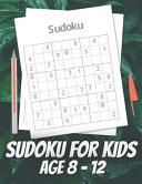Sudoku For Kids Age 8   12 PDF