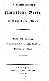 Sämmtliche Werke: Homiletische und katechetische Schriften: Vermischte Predigten : zweiter Band, Band 17