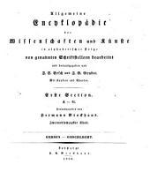 Allgemeine Encyklopädie der Wissenschaften und Künste: in alphabetischer Folge. ¬Section ¬1, A - G ; Theil 62, Gersen - Geschlecht. 1,62