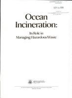 Ocean Incineration PDF