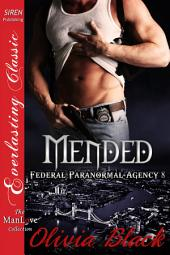 Mended [Federal Paranormal Agency 8]