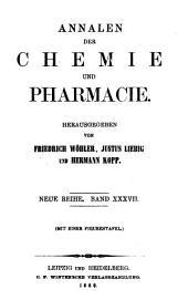 Justus Liebig's Annalen der Chemie: Bände 113-114