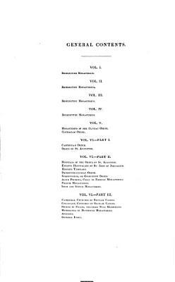 Monasticon Anglicanum PDF