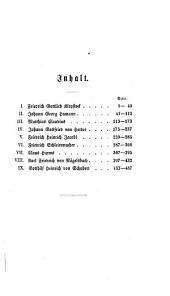 Lebensbilder aus dem letztverflossenen Jahrhundert deutscher Wissenschaft und Literatur