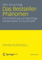Das Bestseller Ph  nomen PDF