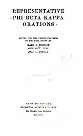 Representative Phi Beta Kappa Orations