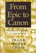 From Epic to Canon