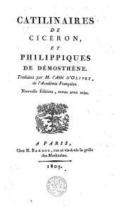 Catilinaires de Cicéron et Philippiques de Démosthene