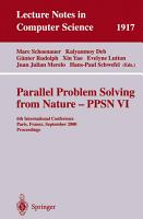 Parallel Problem Solving from Nature PPSN VI PDF