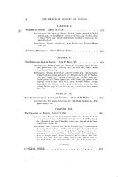 The Memorial History of Boston: Including Suffolk County, Massachusetts. 1630-1880, Volume 4