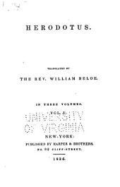 Heredotus: Volume 1