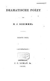 Dramatische poëzy: Volume 1