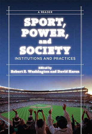 Sport  Power  and Society PDF