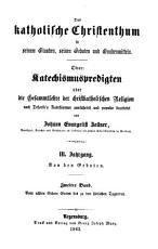 Das katholische Christenthum in seinem Glauben  seinen Geboten und Gnadenmitteln PDF