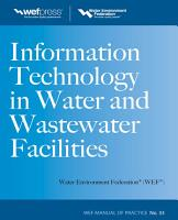Information Technology in Water and Wastewater Utilities  WEF MOP 33 PDF