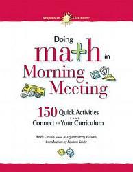 Doing Math In Morning Meeting Book PDF