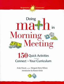 Doing Math In Morning Meeting
