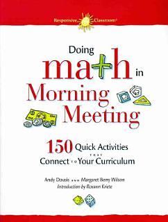 Doing Math in Morning Meeting Book