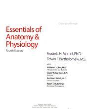Essentials of Anatomy   Physiology PDF