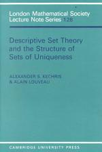 Descriptive Set Theory and the Structure of Sets of Uniqueness