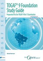 TOGAF   9 Foundation Study Guide   3rd Edition PDF