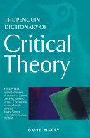 The Penguin Dictionary of Critical Theory PDF
