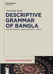 Descriptive Grammar of Bangla