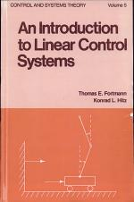 An Introduction to Linear Control Systems