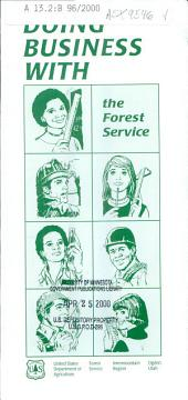 Doing business with the Forest Service