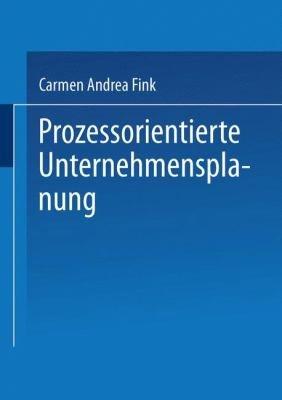 Prozessorientierte Unternehmensplanung PDF