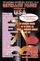Gayellow Pages USA #34 2012-2013