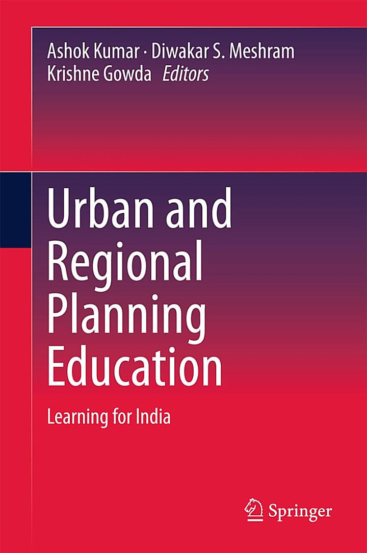 Urban and Regional Planning Education