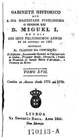 Gabinete Historico Que a Sua Magestade Fidelissima O Senhor Rei D. Miguel I.