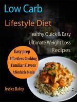 Low Carb Lifestyle Diet