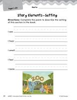 Put Me in the Zoo Studying the Story Elements PDF