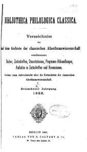 Jahresbericht über die Fortschritte der klassischen Altertumwissenschaft: Bände 45-48