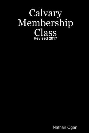 Calvary Membership Class PDF
