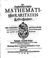 Kunstgünstige Einfalt mathematischer Raritäten: Band 1