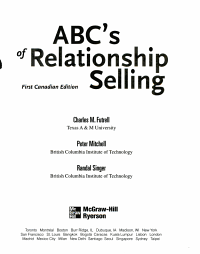ABC s of Relationship Selling PDF