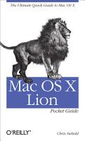 Mac OS X Lion Pocket Guide PDF