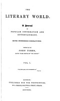 The Literary world  conducted by J  Timbs PDF