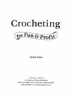 Crocheting for Fun & Profit